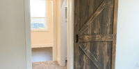 3109-Master Bedroom Sliding Barn Door