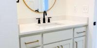 2213-Hall Bath Vanity